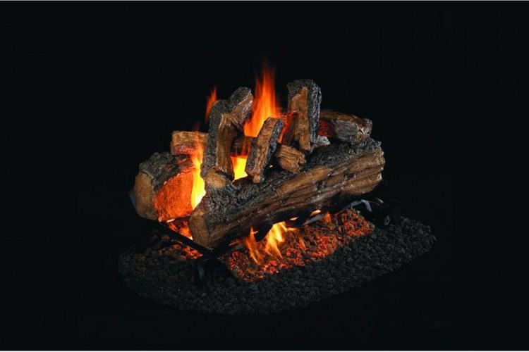 Real Fyre Split Oak Designer Plus With Stainless Steel G45
